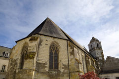 St. Florentin church. Amboise, Valley of Loire, France Stock Image