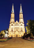 ST Florian& x27 καθεδρικός ναός του s στη Βαρσοβία στοκ εικόνα