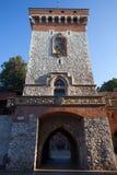St Florian Gate in Krakau stock foto