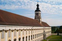 St Florian Monastery em Upper Austria imagens de stock