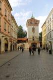 St Florian ` s brama w Starym miasteczku, Krakow obrazy royalty free