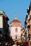 St. Florian's Gate  in Krakow Royalty Free Stock Image