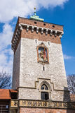 St.Florian's Gate tower in the Krakow Royalty Free Stock Photo