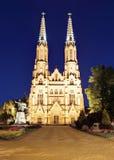 St Florian& x27; s katedra w Warszawa obraz stock