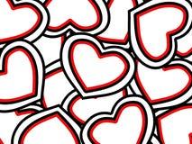 St. Fondo del día de tarjetas del día de San Valentín fotos de archivo libres de regalías