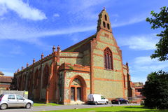 St-frälsare kyrkliga Folkestone Kent United Kingdom Royaltyfria Bilder