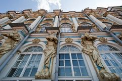 st för catherine slottpetersburg s saint Arkivfoton