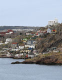 st för Kanada hamnjohns newfoundland sida Royaltyfri Foto