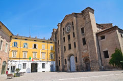 St. Francesco al Prato church. Parma. Emilia-Romagna. Italy. Stock Photography