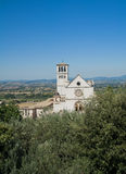 St. Francesco Basilica. Assisi. Umbria. Royalty Free Stock Photo