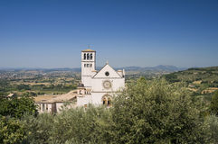 St. Francesco Basilica. Assisi. Umbria. Royalty Free Stock Photos