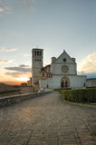 St. Francesco Basilica. Assisi. Umbria. Stock Image