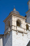 St. Francesco Basilica. Belltower. Assisi. Umbria. Royalty Free Stock Image