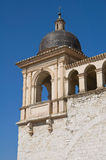St. Francesco Belltower Basilica. Assisi. Umbria. Stock Photo