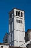 St. Francesco Belltower Basilica. Assisi. Umbria. Royalty Free Stock Images