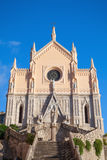 St Francesco Cathedral, front view. Gaeta, Italy Stock Photography