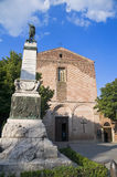 St. Francesco Church. Citta' della Pieve. Umbria. Royalty Free Stock Images
