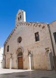 St. Francesco Church. Trani. Apulia. Stock Images