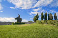 St. Francesco Knight. Assisi. Umbria. Stock Photos