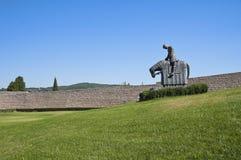 St. Francesco Knight. Assisi. Umbria. Royalty Free Stock Photos