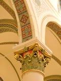st francis детали собора нутряной стоковые фото