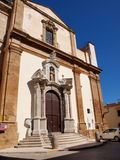 St Francis of Assisi church, Marsala, Sicily, Italy Stock Image