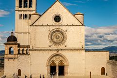 St. Francis of Assisi Church Stock Images