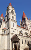 St. Francis of Assisi Church in Vienna Stock Images