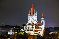 St. Francis of Assisi Church in Vienna, Austria Royalty Free Stock Photography