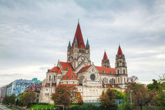 St. Francis of Assisi Church in Vienna, Austria Stock Photo