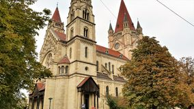 St Francis of Assisi Church, Vienna Stock Image