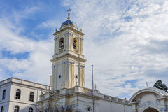St. Francis of Assisi Convent in Jujuy, Argentina. stock photo