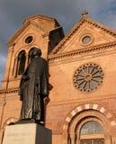 St Francis av den Assisi domkyrkabasilikan Royaltyfri Bild
