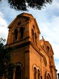 St Francis av den Assisi domkyrkabasilikan Arkivfoton