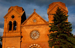 St Francis av den Assisi domkyrkabasilikan Royaltyfri Foto