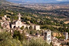 St Francis av den Assisi kyrkan royaltyfria bilder