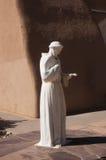 St Francis av den Assisi statyn Arkivbild
