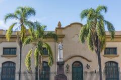 St Francis av den Assisi statyn i Jujuy, Argentina Royaltyfria Bilder
