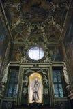 St Francis av det Assisi altaret Royaltyfri Bild