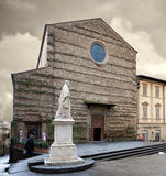 St Francis Basilica Arezzo Italy royalty-vrije stock afbeelding