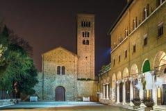 St Francis basilika, Ravenna, Italien Arkivbilder