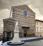 St Francis bazylika Arezzo Włochy Obraz Royalty Free