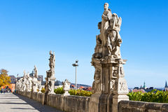 St. Francis Boghy, Jesuit college, Kutna Hora, Czech republic, Europe. Baroque St. Francis Boghy statue in front of Jesuit college, Kutna Hora, Czech republic Royalty Free Stock Images