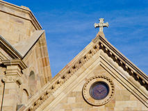 St. Francis Cathederal royalty free stock photos