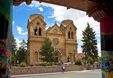 St. Francis Cathedral, Santa Fe, New Mexico Royalty Free Stock Photo