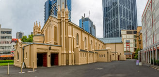 St. Francis' Catholic Church in Melbourne Royalty Free Stock Image