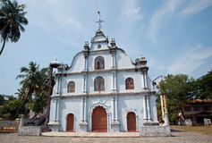 St. Francis Church, Kochi. Originally built in 1503, it is the oldest European church in India and has great historical significance as a mute witness to the stock images