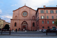 St. Francis Church in Modena Stock Image