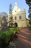 St. Francis church is the oldest built on India Royalty Free Stock Photos