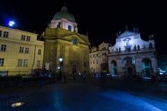 St Francis d'église d'Assisi et d'église du Christ de l'ordre de jésuite Photos libres de droits